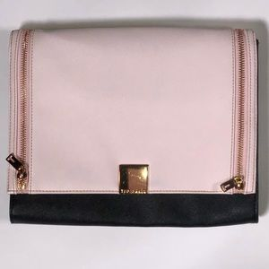 💯% Authentic Ted Baker Pink & Black Clutch